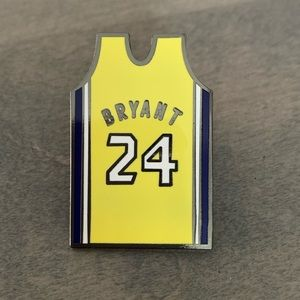 4 for $25 Kobe Bryant Jersey enamel pin